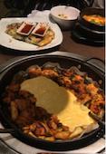 韓国料理 中央シジャン 新大久保店の韓国家庭料理セットの写真