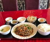 北海飯店 栃木店のニラレバーの写真