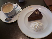 カフェ ラントマン CAFE LANDTMANNのザッハトルテの写真