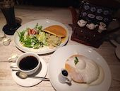 British Baaba 心斎橋店のスペシャルバターミルクパンケーキ(3枚)の写真