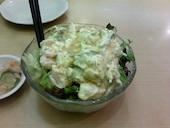福寿し 千葉中央店の海老キューサラダの写真