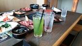 七輪房 井野店のバランスセット2~3名様 お肉280g(写真のお肉は2商品分量です。)の写真