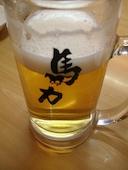 馬力 錦糸町北口店 やきとりの生ビールの写真