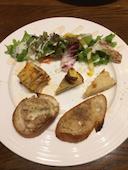 ワインばる ブロシェット Brochette 静岡両替町店のシェフおまかせ前菜5点盛りの写真