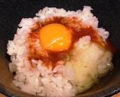 串焼ビストロ BUAISOUのじろうのたまごかけご飯の写真