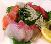 Sanuki Wa-Fu Dining 真 SINのお刺身4種盛りの写真