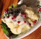 ビーフマン Beef Man 小倉魚町店のブルーチーズのポテトサラダの写真