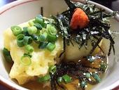 瓦そば・たかせ・別館の揚げ出し豆腐の写真