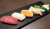 ゆず庵 新下関店の本日の寿司盛合せ(五貫)の写真