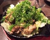 旨いものや廉 下関本店の長州鶏のネギ焼きの写真