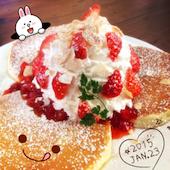 ジロー珈琲 豊四季店のストロベリー&ホイップの写真