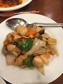 横浜中華街 中南海の鶏肉とカシューナッツの炒めの写真
