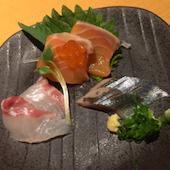 ほのかの鮮魚のお刺身の写真