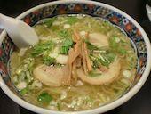 函館 あじさい 本店の味彩塩拉麺の写真