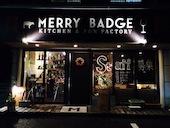 MERRY BADGEのとろーりチーズonおろしそハンバーグの写真