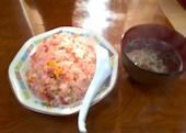 麺や 手ごね竹の紅チャーハンの写真