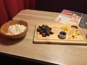 ミートボーイニューヨーク MEAT BOY N.Y 名駅店の牛ハラミステーキの写真