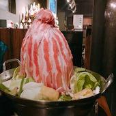 ブルーブライト BlueBrightの『名物肉タワー鍋付』70種[食放]+120分[飲放]⇒3000円の写真