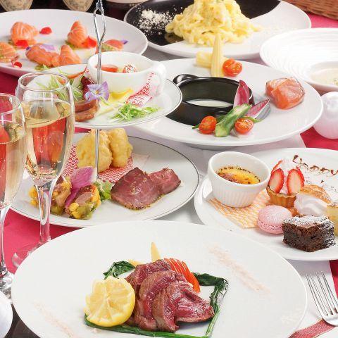 2016のバレンタインデーは日曜日!梅田エリアで夜景がきれいなレストラン3選