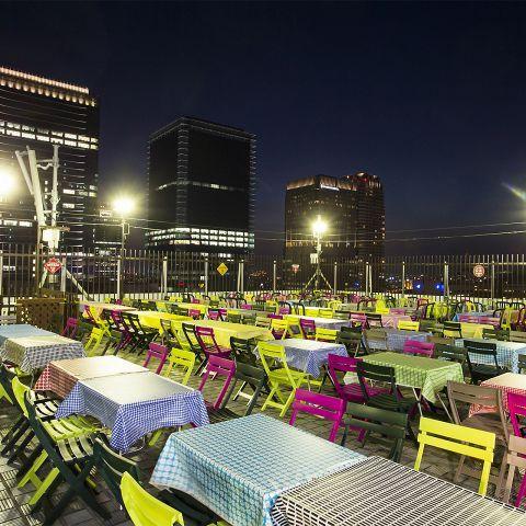 今夜は飲み会!大阪のおすすめビアガーデン10選 の画像