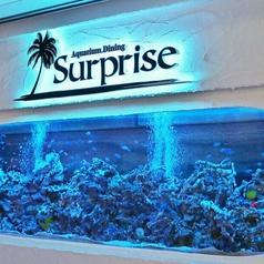 Aquarium Restaurant サプライズ